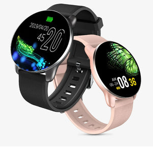 KSUN KSR709 Men Sport Pedometer Smart Watch IP68 Waterproof Fitness Tracker Heart Rate Monitor Women