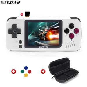 Game Console,PocketGo,Video Game Console Retro Handheld, 2.4inch screen portable children game