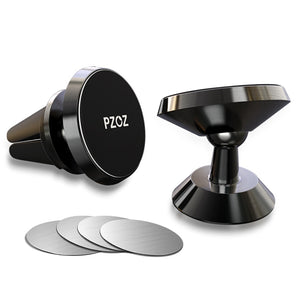 PZOZ Magnetic car phone holder Air Vent Mount Magnetic Holder for phone in car Universal stand