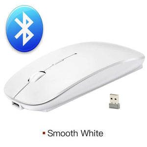 Silent Wireless Mouse Bluetooth Mouse USB Computer Mouse Wireless Rechargeable Mause Bluetooth 4.0