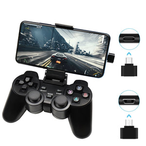 Wireless Gamepad For Android Phone/PC/PS3/TV Box Joystick 2.4G Joypad Game Controller For Xiaomi