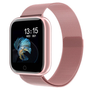 Women Waterproof Smart Watch P70 P68 Plus Bluetooth Smartwatch For Apple IPhone Xiaomi Heart Rate