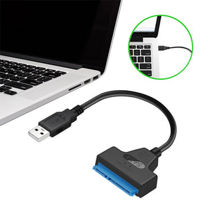 SATA 3 Cable Sata to USB Adapter Up to 6 Gbps for 2.5 Inches External SSD HDD Hard Drive 22 Pin Sata