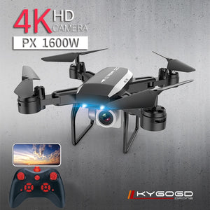 KY606D Drone FPV RC Drone 4k Camera 1080 HD Aerial Video dron Quadcopter RC helicopter toys for kids