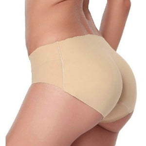 Women Seamless Butt Hip Enhancer Body Shaper Push Up Padded Panties Underwear,