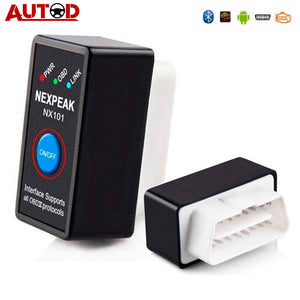 Bluetooth V1.5 Engine code reader Mini OBD2 Scanner Car Diagnostic Tool OBD 2 Auto Scanner