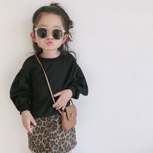 kids clothes 2019 autumn girls set long sleeve tops +skirts children 2pieces tracksuit baby girl