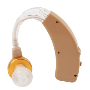 Cofoe Rechargeable Hearing Aid for The Elderly  Hearing Loss Sound Amplifier Ear Care Tools 2 Color Adjustable Hearing Aids