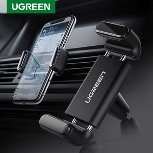 Ugreen Car Phone Holder for Your Mobile Phone Holder Stand for iPhone 11 8 Air Vent Mount Cell Phone