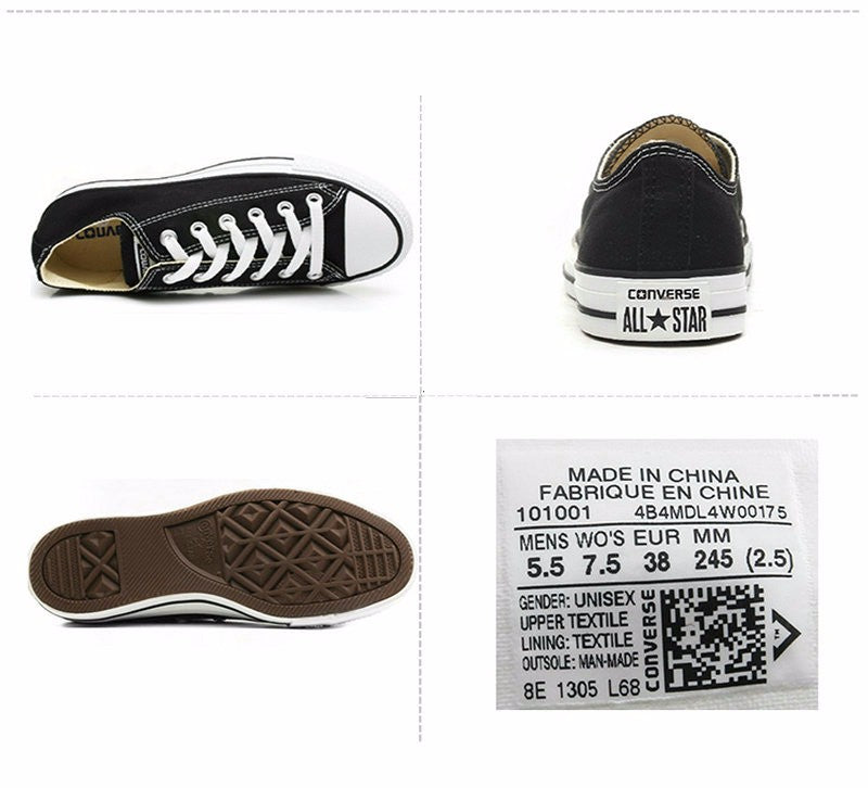 90cb267f562d canvas shoes men s and women s sneakers for men women low classic  Skateboarding Shoes