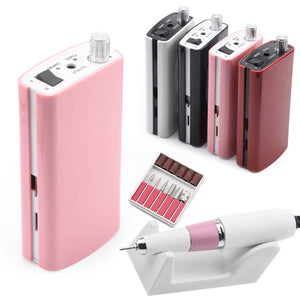 Nail Drill Machine 36W 35000RPM Manicure Machine Electric Nail File Nail Art Tools Set for Nail