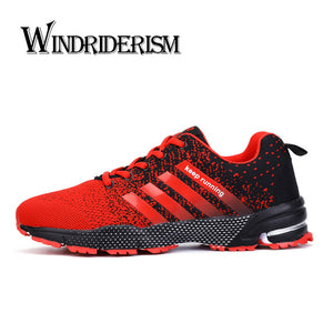 Sneakers Flyknit Cushion Damping Zapatos Para Correr Lightweight Wearable Anti-Skidding Casual Shoes