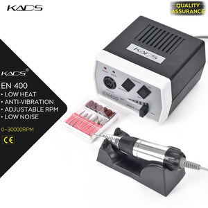 KADS Electric Nail Drill manicure Machine Set 35W 30000RPM Electric manicure Pedicure tool Kit