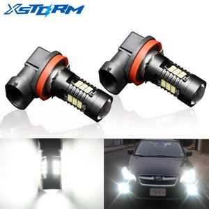 2Pcs H8 H11 Led HB4 9006 HB3 9005 Fog Lights Bulb 3030SMD 1200LM 6000K White Car Driving Running