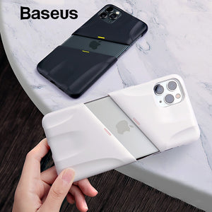 Baseus For iPhone 11 Case Hard PC Shockproof Case Support Wireless Charging for iPhone 11 Pro Max