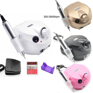 35000RPM Electric Nail Drill Manicure Machine Apparatus for Manicure Pedicure Nail File Tools