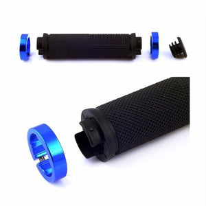 1 pair MTB BMX Road Cycling Handlebar Grips Anti-Skid Rubber Bicycle Grips Mountain Bike Lock On