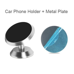 Untoom Car Phone Holder Magnetic Universal Magnet Phone Mount for iPhone X Xs Max Samsung in Car
