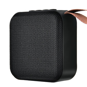 HANXI Wireless Bluetooth Mini Speaker Stereo Portable Speakers Subwoofer Bluetooth 5.0 with SD FM