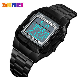 SKMEI Military Sports Watches Waterproof Mens Watches Top Brand Luxury Clock Electronic LED