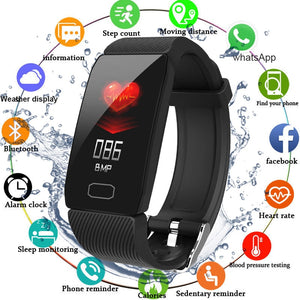 Smart Band Blood Pressure Q1 Heart Rate Monitor Fitness Tracker Smart Watch Fitness Bracelet