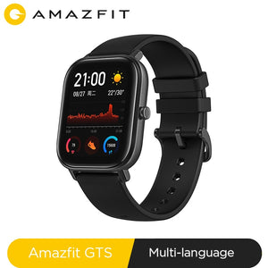 Global Version NEW Amazfit GTS Smart Watch 5ATM Waterproof Swimming Smartwatch 14Days Battery