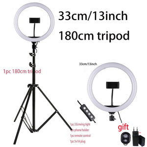 10inch 25cm USB charge New Selfie Ring Light Flash Led Camera Phone Photography Enhancing