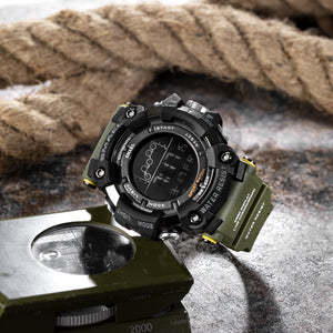 Mens Watch Military Water resistant SMAEL Sport watch Army led Digital wrist Stopwatches for male