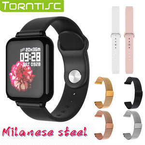 Torntisc B57 Women Smart Watch For Android Apple Watch Heart Rate Blood Pressure Hero Band 3