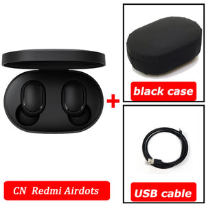 xiaomi airdots Redmi Airdots TWS Wireless earphone Voice control Bluetooth 5.0 Noise reduction Tap