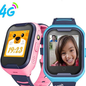 Kids Smart Watch 4G Wifi GPS Tracker Smartwatch Kids 4g Watch Phone Video Call Waterproof Smart