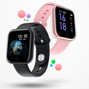 New Women Waterproof Smart Watch T80 Bluetooth Smartwatch For Apple IPhone Xiaomi Heart Rate Monitor