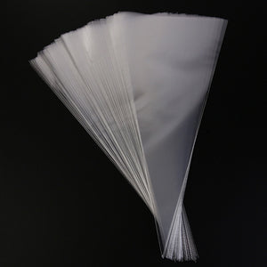 50 Pcs Clear Cellophane Packing Bag Candy Bags Gift Bags Environmentally Friendly Chocolate Sweet