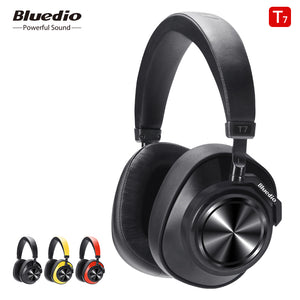 Bluedio T7 Bluetooth Headphones User-defined Active Noise Cancelling Wireless Headset for phones and