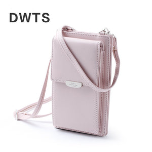 Women Casual Wallet Brand Cell Phone Wallet Big Card Holders Wallet Handbag Purse Clutch Messenger