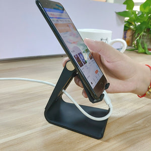 Rotating tablet flexible phone holder for iphone Universal cell desktop stand for phone Tablet Stand