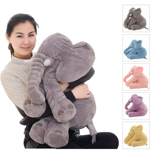 40/60cm Appease Elephant Pillow Soft Sleeping Stuffed Animals Plush Toys Baby Playmate gifts for