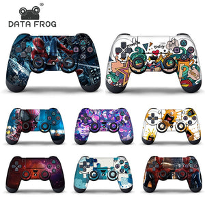 Data Frog Protective Cover Sticker For PS4 Controller Skin For Playstation 4 Pro Slim Decal