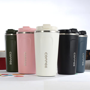 New Style Double Stainless steel 304 Coffee Mug Car Thermos Mug Leak_Proof Travel Thermo Cup