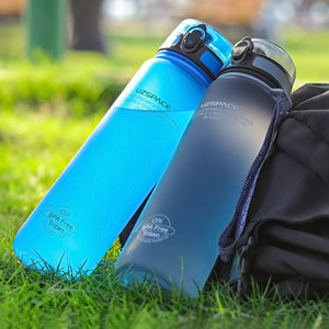 Explosion Sports Water Bottles 500ML 1L Protein Shaker Outdoor Travel Portable Leakproof Tritan