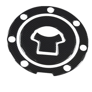 1pcs Carbon Fiber Tank Pad Tankpad Protector Sticker For Motorcycle Universal