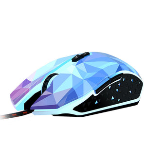 Original X8 Dazzle Colour Diamond Edition Gaming Mouse Wired Mouse Gamer Optical Computer Mouse