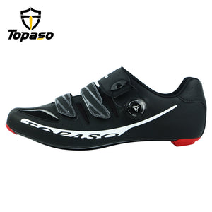 Topaso Carbon Fiber Road Bike Cycling Shoes Sneakers Men Zapatillas Ciclismo Carretera Deportivas