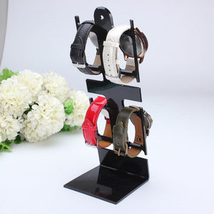 Plastic Watch Storage Box Case Bracelet Watch Box Jewelry Decoration Display Stand 4-Holder Rack