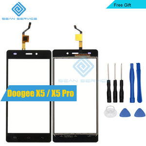 For Doogee X5 / X5 Pro TP Touch Screen Panel Perfect Repair Parts +Tools Glass With Digitizer Sensor Replacement 5.0""