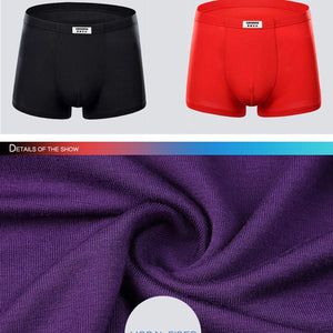 Men Boxer Shorts Brand Quality Sexy Underwear Modal Male Comfortable Solid Panties Underpants Cueca Boxers