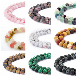 4 6 8 10 12mm Matte Onyx agat Loose Beads natural stone beads Round Gorgeous Matte Rose pink