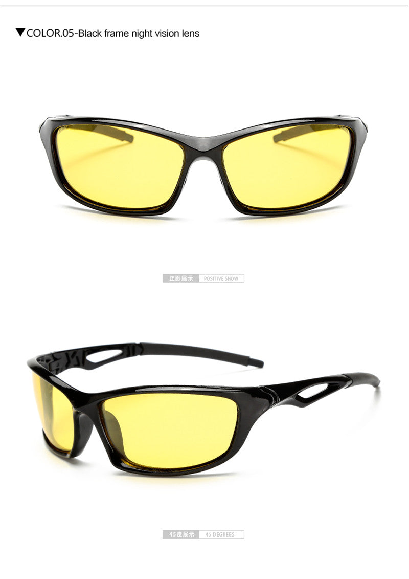 bfecaf1480f7 Night Vision Glasses For Headlight Polarized Driving Sunglasses Yellow Lens  UV400 Protection Night Eyewear for Driver