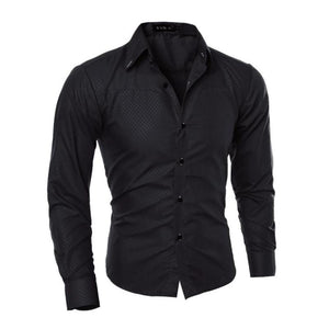 Slim Fit Brand Casual Shirts
