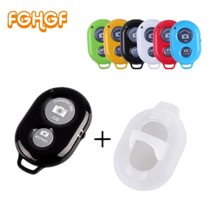 FGHGF Camera Bluetooth Remote Controller photo shutter Release For iphone 6 6s 7 Pau de Selfie stick